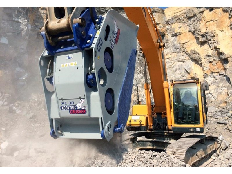 xcentric xc20 crusher bcukets rent-try-buy 461495 009