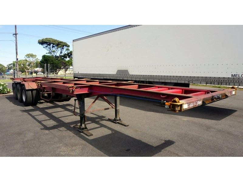 krueger 40ft tri-axle skel trailer 463160 006
