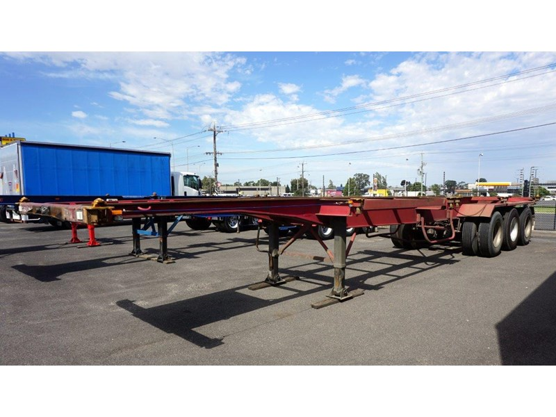krueger 40ft tri-axle skel trailer 463160 002