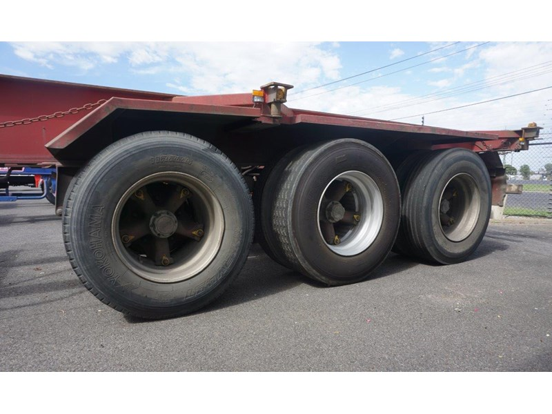 krueger 40ft tri-axle skel trailer 463160 016