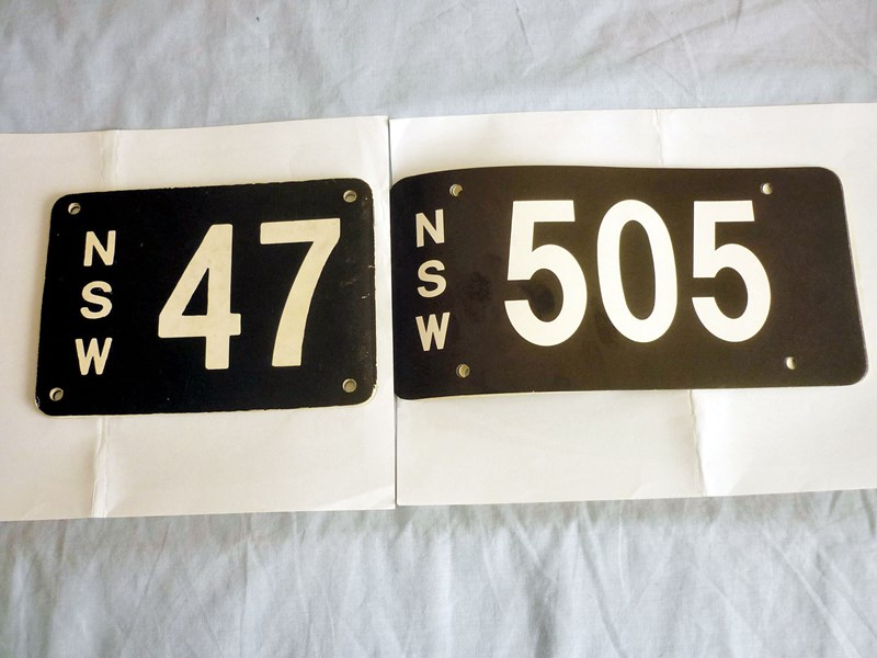 number plates rcyclr/scrapa 466030 015