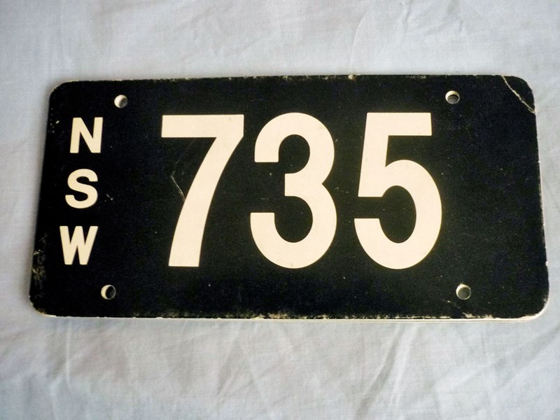number plates rcyclr/scrapa 466030 011