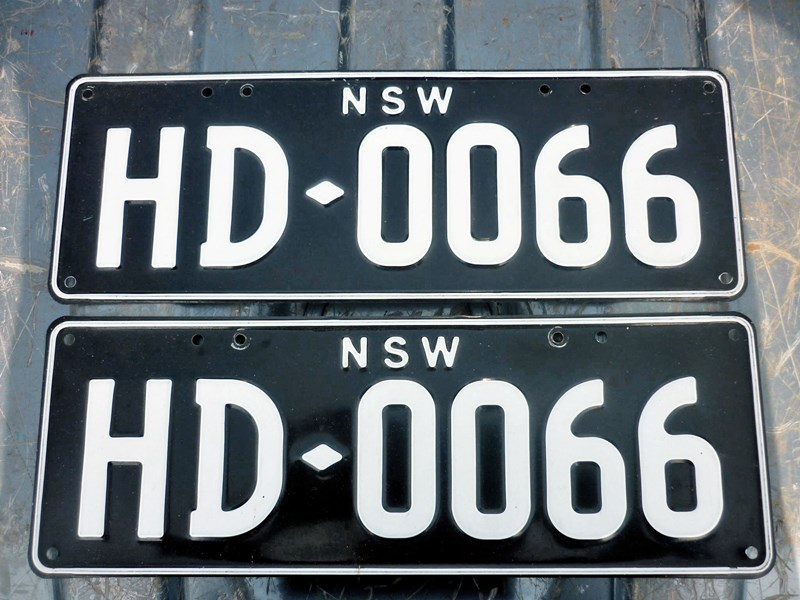number plates rcyclr/scrapa 466030 005