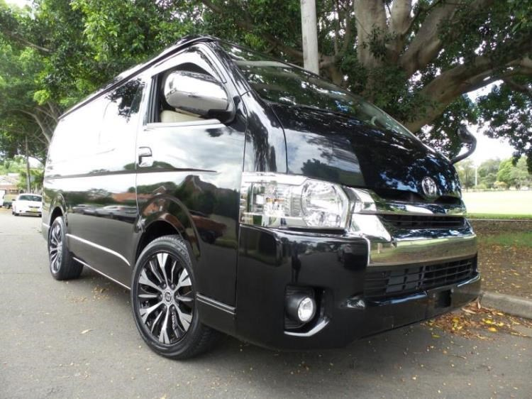 dcde61aa0b 2015 TOYOTA HIACE VAN 10 Seater Low Roof Wide Body Lon for sale