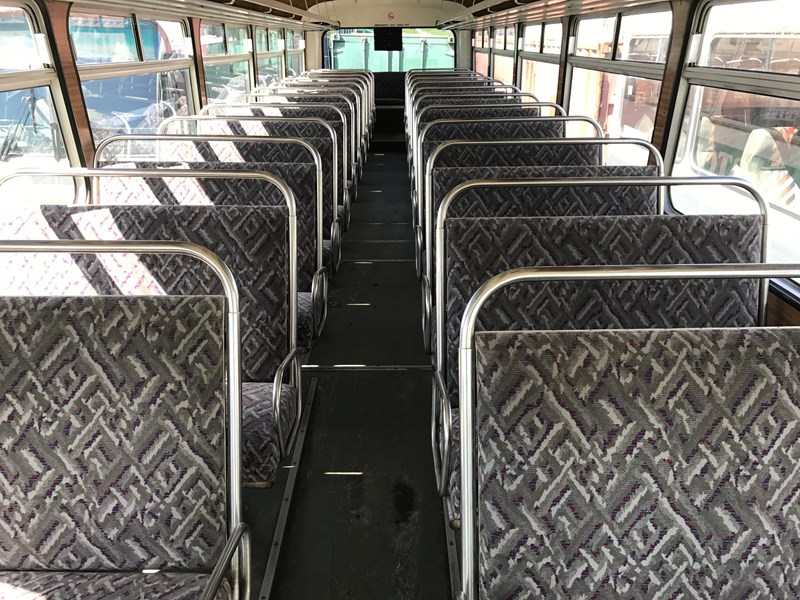 leyland leopard bus, 1983 model 428001 002