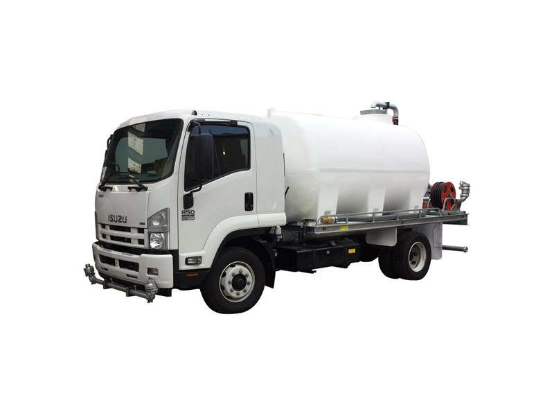 Poly Truck Tank : National water carts truck poly tank module