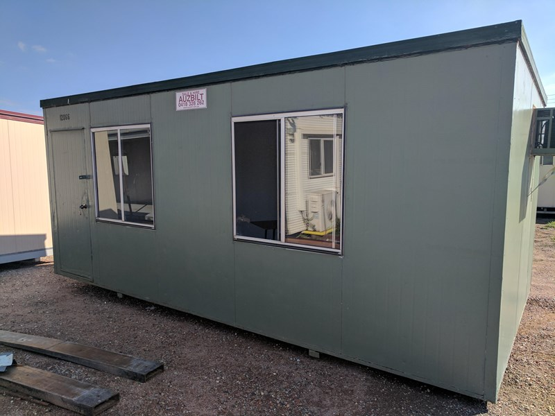 E I GROUP PORTABLES USED 6M X 3M PORTABLE BUILDING for sale