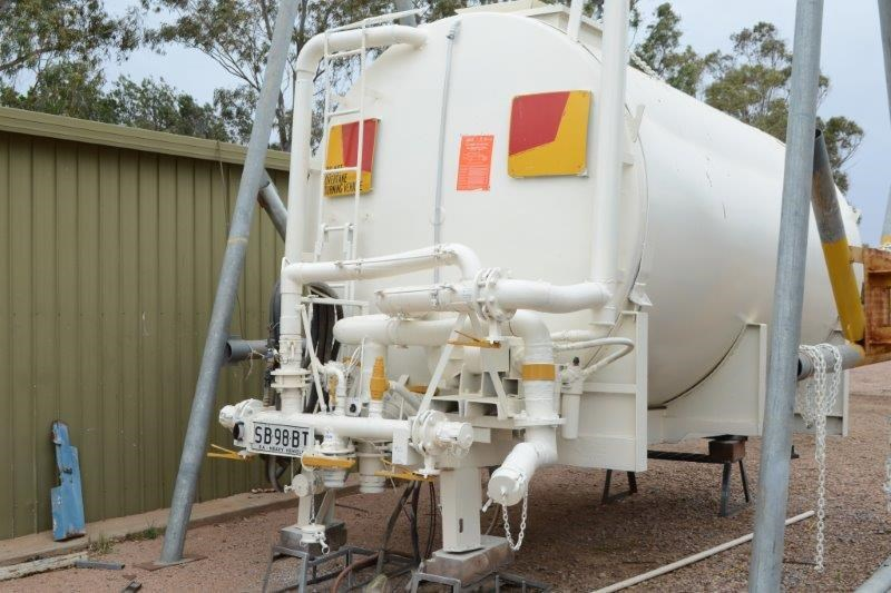 2007 STEEL WATER SPRAY TANK 13,000L for sale