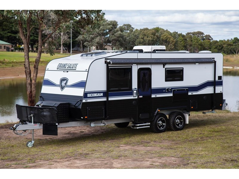 grand salute buckingham 22ft semi off road (family bunk caravan) 478087 001