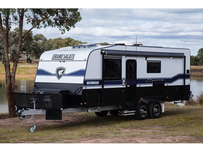 grand salute buckingham 22ft semi off road (family bunk caravan) 478087 005