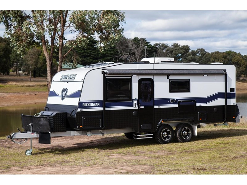 grand salute buckingham 22ft semi off road (family bunk caravan) 478087 006