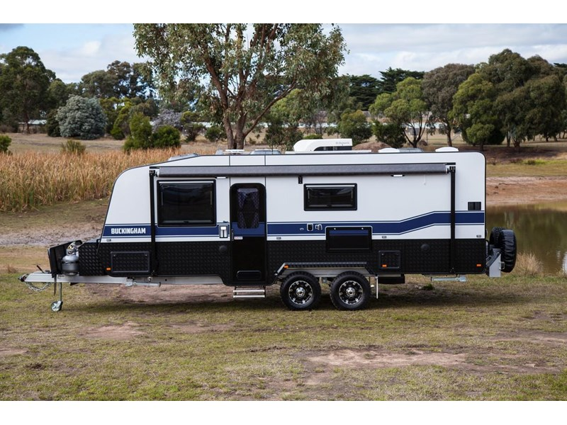 grand salute buckingham 22ft semi off road (family bunk caravan) 478087 007