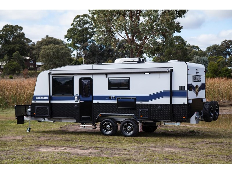 grand salute buckingham 22ft semi off road (family bunk caravan) 478087 008
