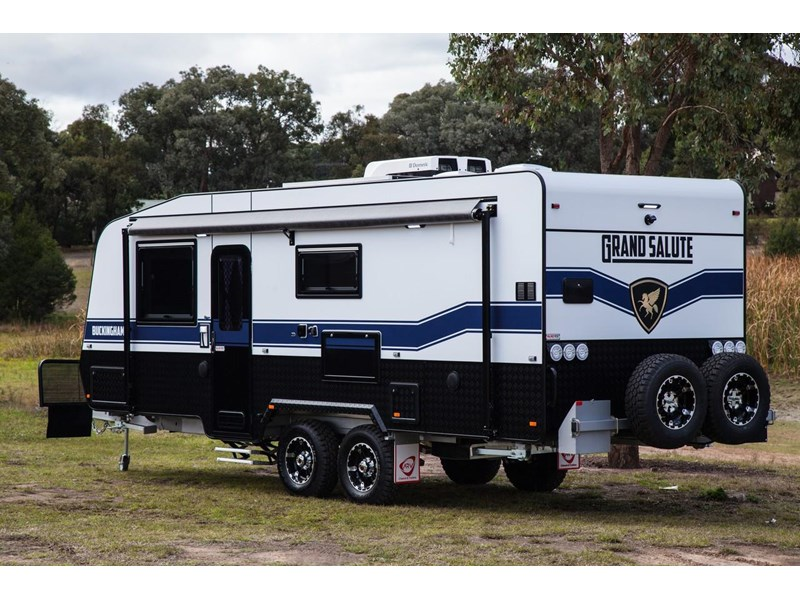 grand salute buckingham 22ft semi off road (family bunk caravan) 478087 009