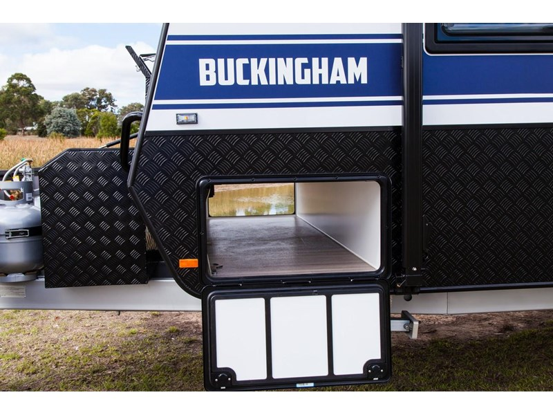 grand salute buckingham 22ft semi off road (family bunk caravan) 478087 014