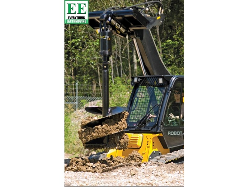 digga pd6hf backhoe high flow auger drive 385496 004