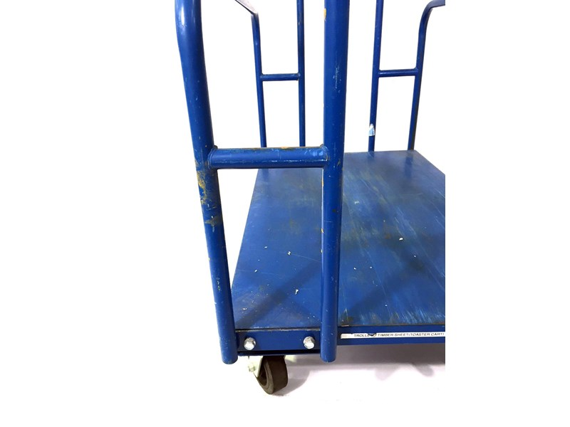 unknown timber sheet trolley 491730 006