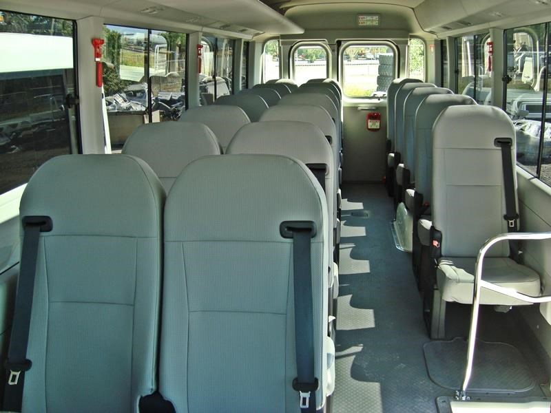 toyota 4x4 conversion of coaster bus 474352 009