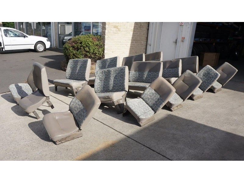 other mitsubishi rosa bus seats - 2nd hand 498317 009