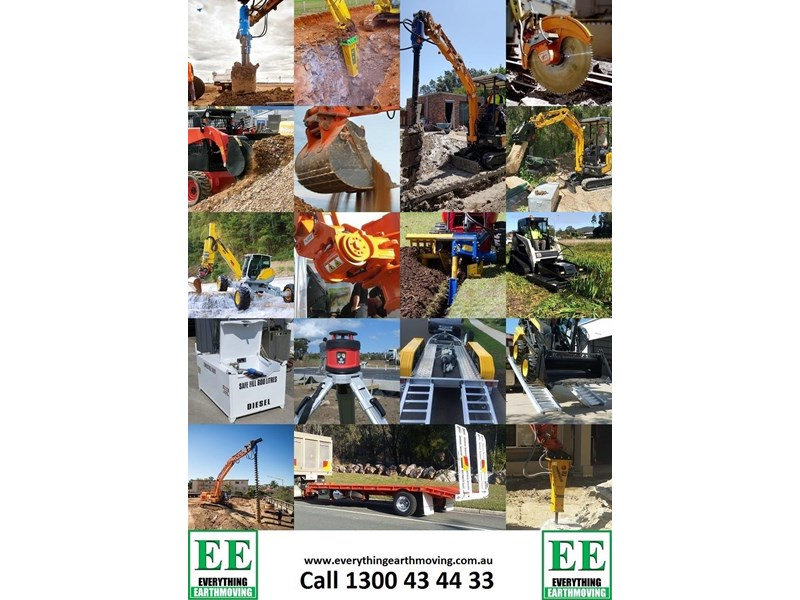 auger torque trenchers // excavators 5t to 10t, high flow skidsteer loaders and backhoes 429552 032