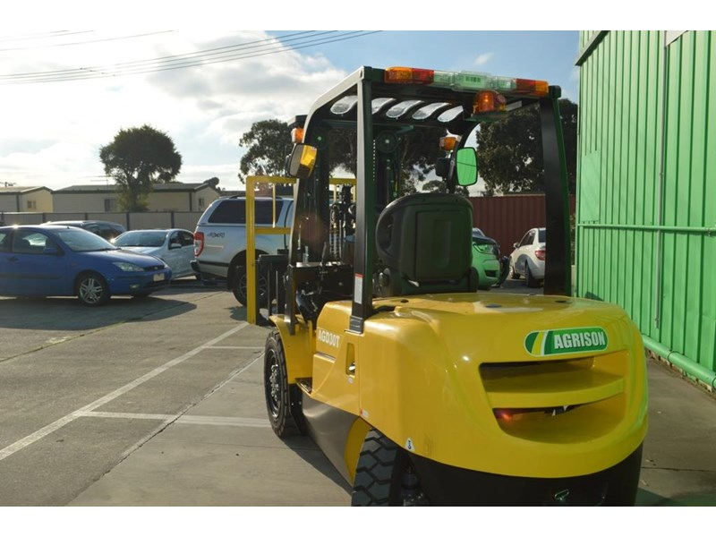 agrison 3 tonne forklift - 3 stage cont. mast - nationwide delivery 505629 004