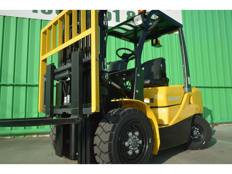 agrison 3 tonne forklift - 3 stage cont. mast - nationwide delivery 505629 006