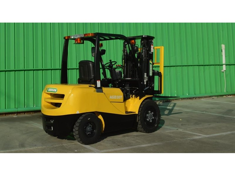 agrison 3 tonne forklift - 3 stage cont. mast - nationwide delivery 505629 012