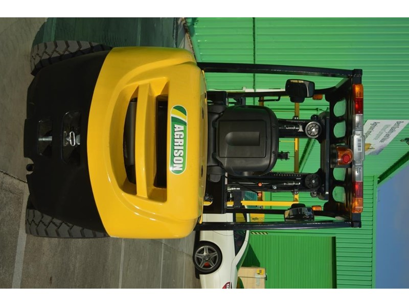 agrison 3 tonne forklift - 3 stage cont. mast - nationwide delivery 505629 018