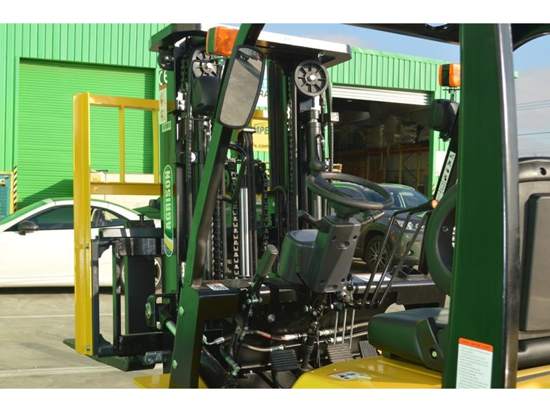agrison 3 tonne forklift - 3 stage cont. mast - nationwide delivery 505629 020