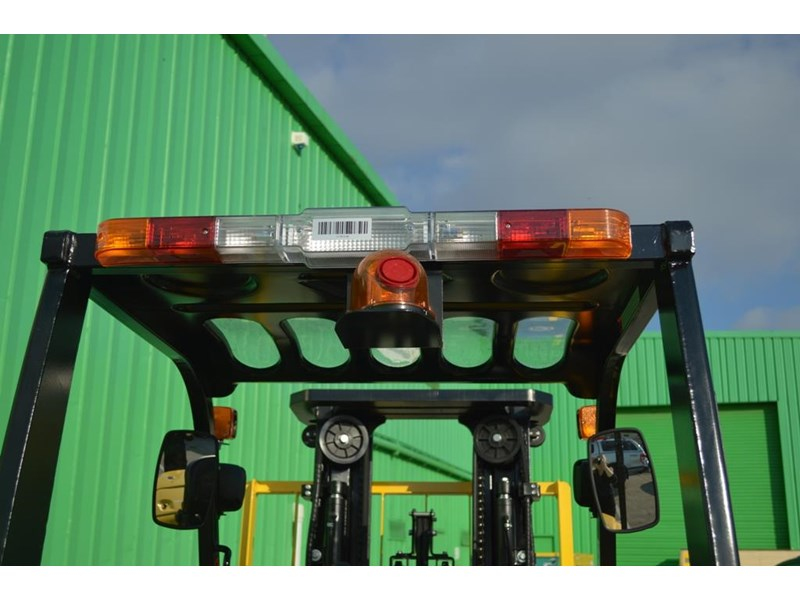 agrison 3 tonne forklift - 3 stage cont. mast - nationwide delivery 505629 022