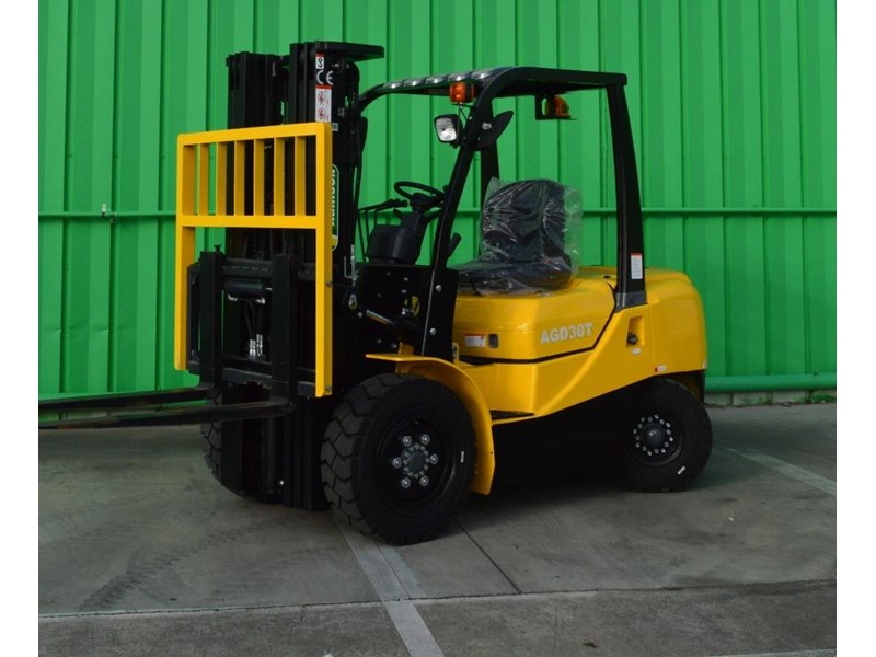 agrison 3 tonne forklift - 3 stage cont. mast - nationwide delivery 505629 024