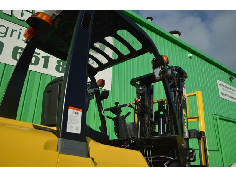 agrison 3 tonne forklift - 3 stage cont. mast - nationwide delivery 505629 025