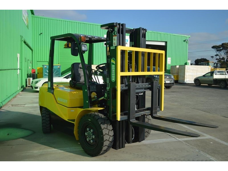 agrison 3 tonne forklift - 3 stage cont. mast - nationwide delivery 505653 006