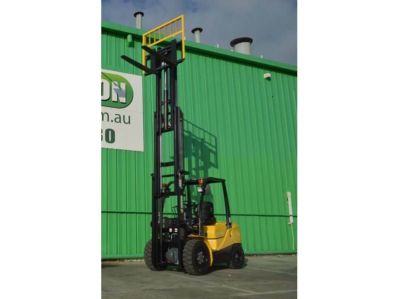 agrison 3 tonne forklift - 3 stage cont. mast - nationwide delivery 505653 008