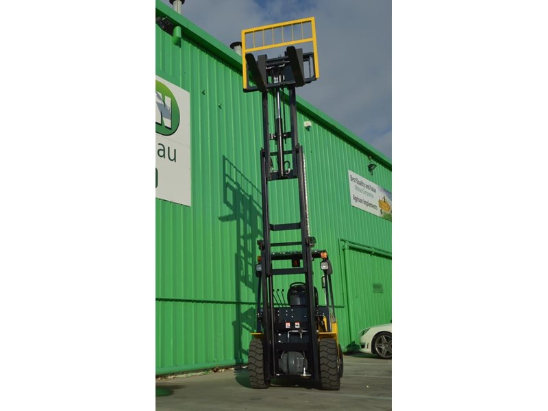 agrison 3 tonne forklift - 3 stage cont. mast - nationwide delivery 505653 009