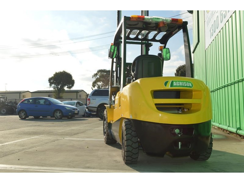 agrison 3 tonne forklift - 3 stage cont. mast - nationwide delivery 505653 010