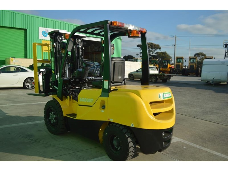 agrison 3 tonne forklift - 3 stage cont. mast - nationwide delivery 505653 018