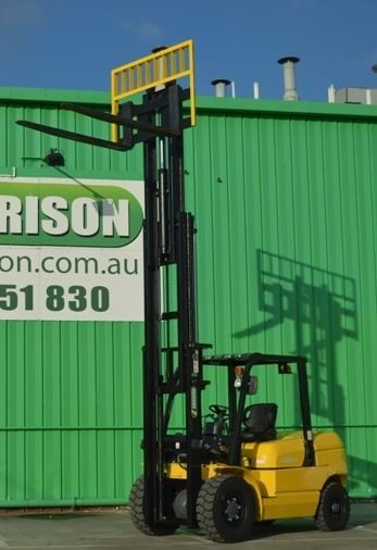 agrison 5 tonne forklift - 3 stage cont. mast - nationwide delivery 505661 006