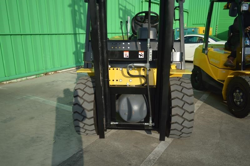 agrison 5 tonne forklift - 3 stage cont. mast - nationwide delivery 505661 007
