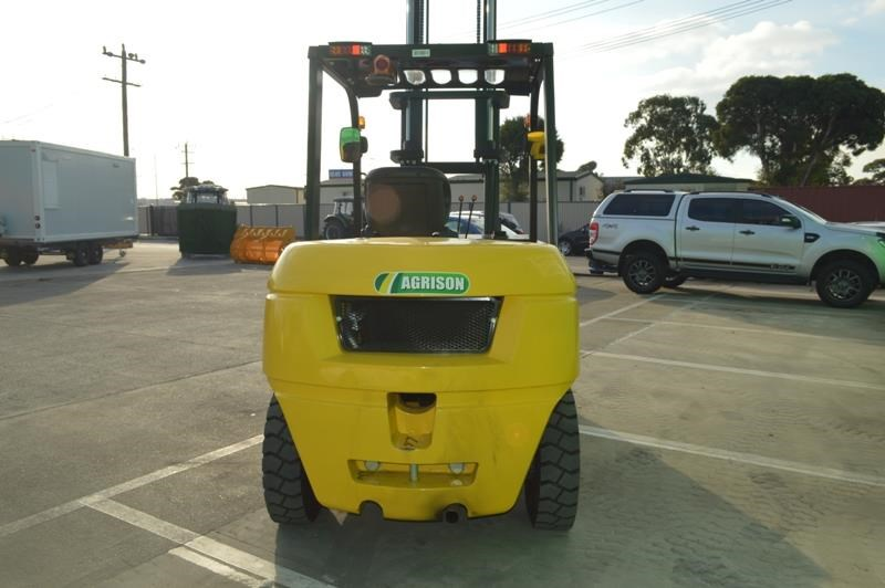 agrison 5 tonne forklift - 3 stage cont. mast - nationwide delivery 505661 010