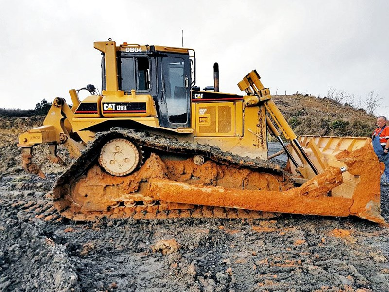 caterpillar d6r bulldozer 507697 001