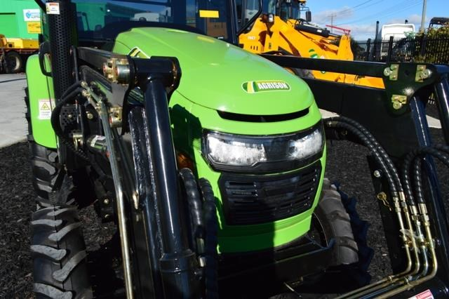 agrison 40hp cdf cabin + 6ft slasher + fel + 4 in 1 bucket 508938 009