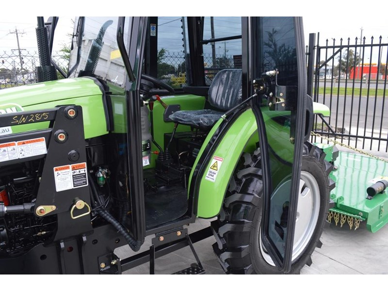agrison 40hp cdf cabin + 6ft slasher + fel + 4 in 1 bucket 508938 016