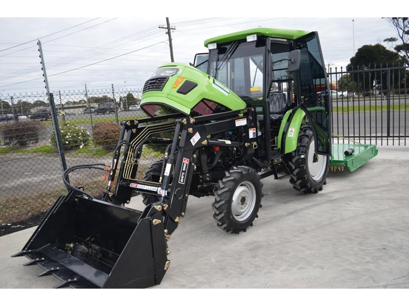agrison 40hp cdf cabin + 6ft slasher + fel + 4 in 1 bucket 508940 018