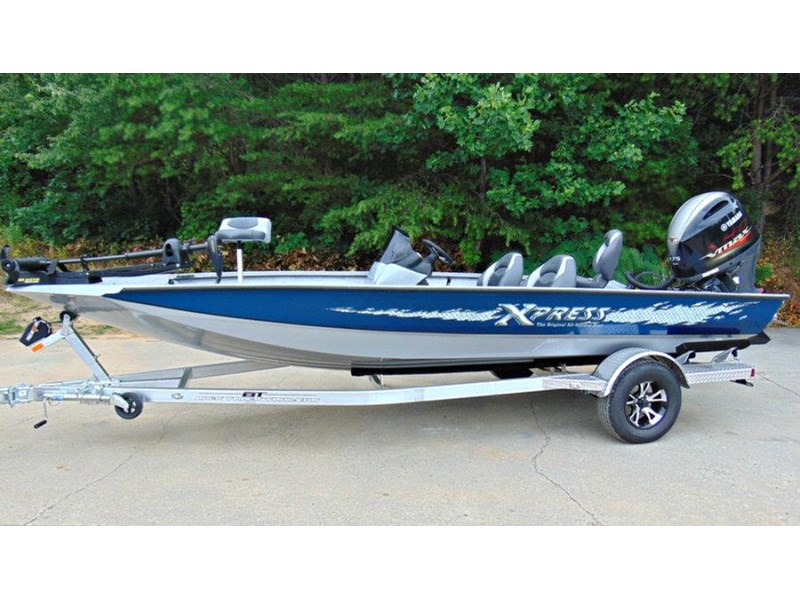 bass boat xpress x19 pro tournament bass fishing boat 521886 006