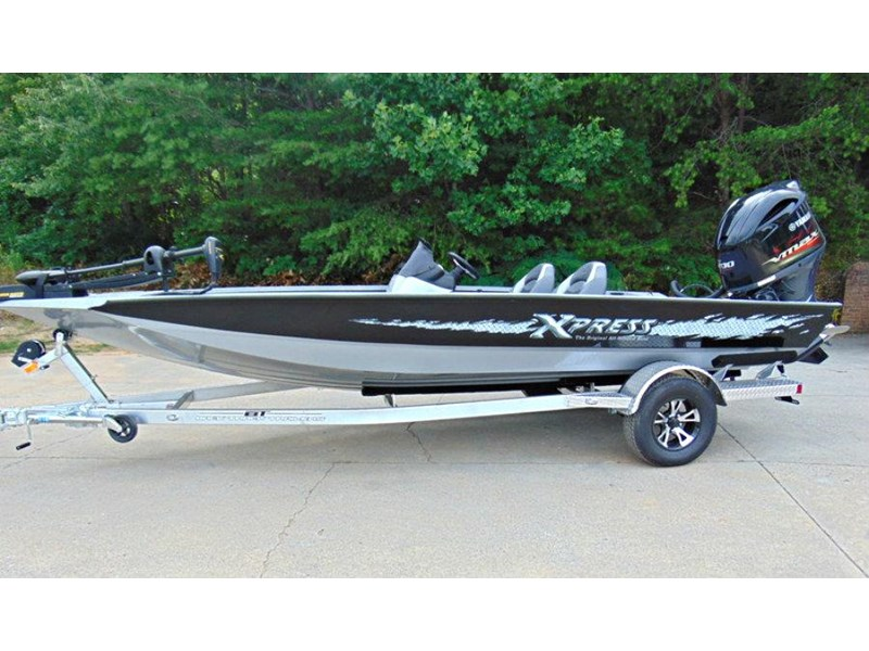 bass boat xpress x19 pro tournament bass fishing boat 521886 001