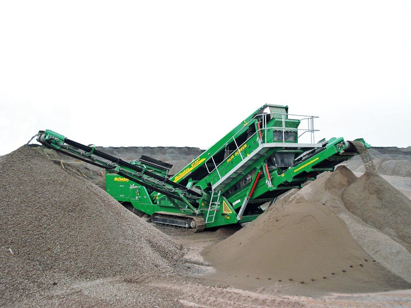 2018 MCCLOSKEY S130 HIGH ENERGY SCREENER for sale