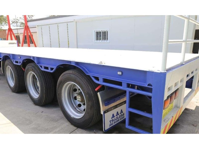 aaa new drop deck trailer with pins 527047 006