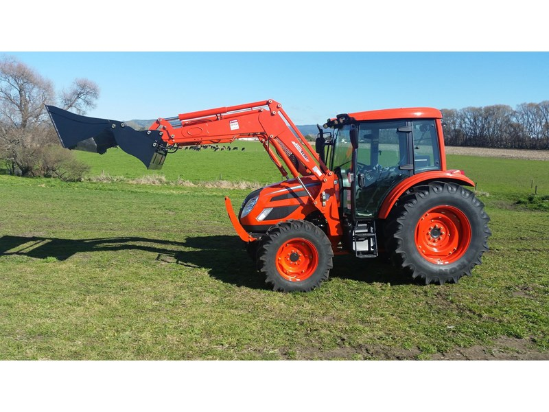 KIOTI PX1052 CAB AND LOADER for sale