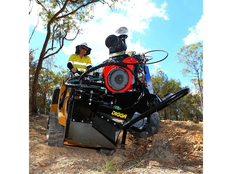 digga terminator stump grinder - mini machines 273784 002